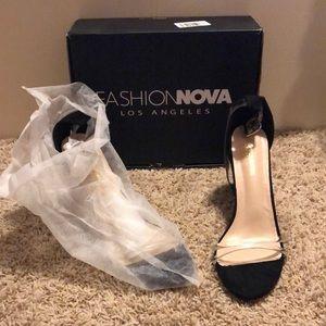 Fashion Nova High Block Heels